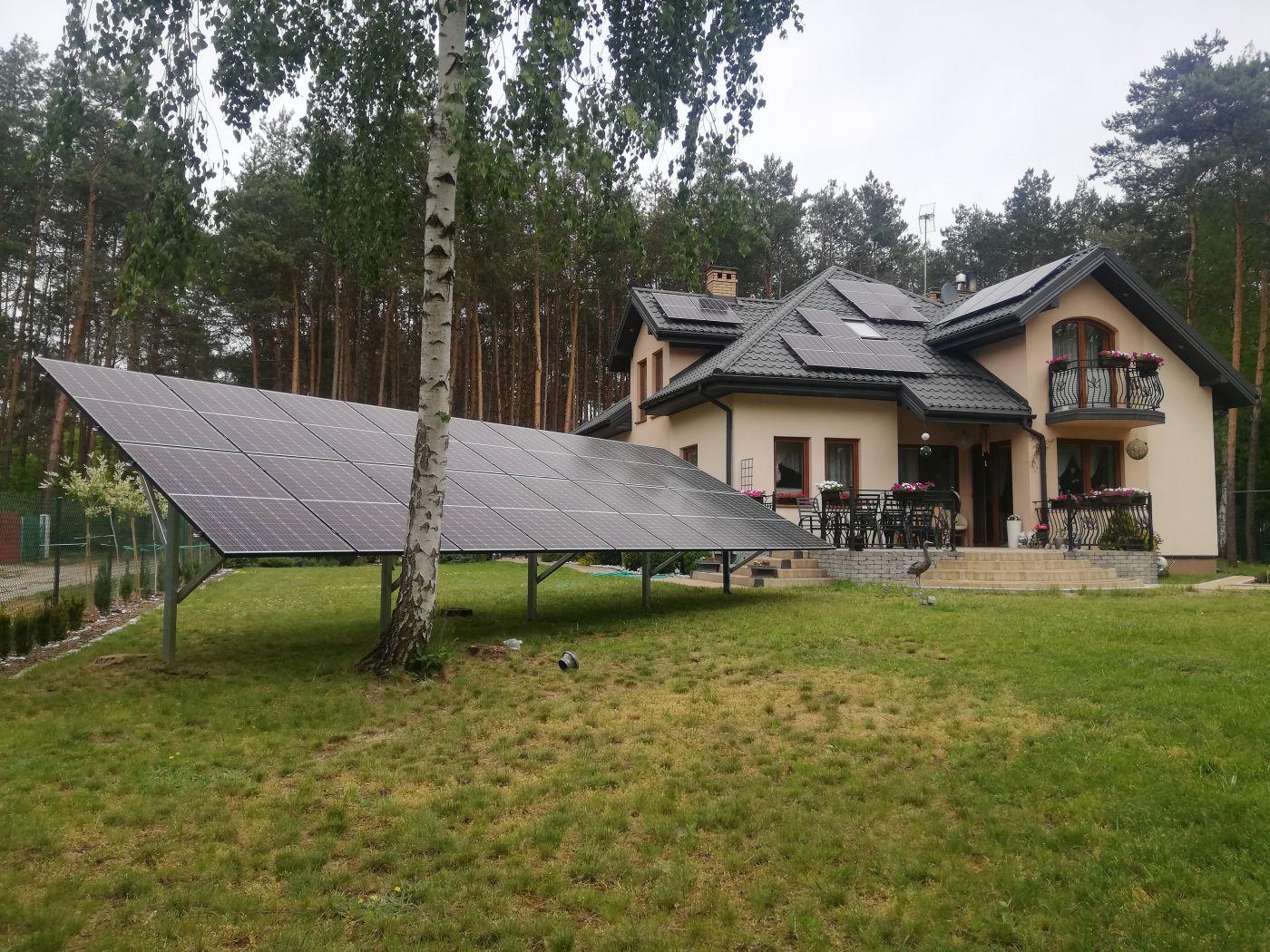 Panele fotowoltaiczne dla domku jednorodzinnego- Otwarta Energia