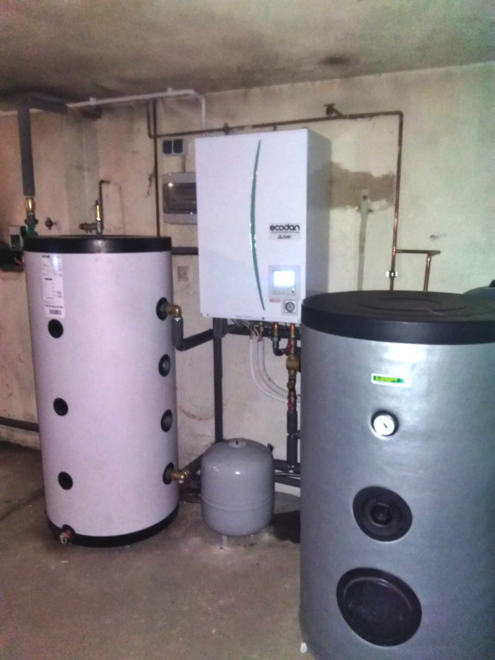 Nowa pompa ciepła w starym domu - otwartaenergia.pl